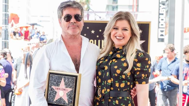 Simon Cowell Kelly Clarkson
