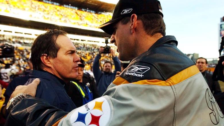 Bill Cowher and Bill Belichick