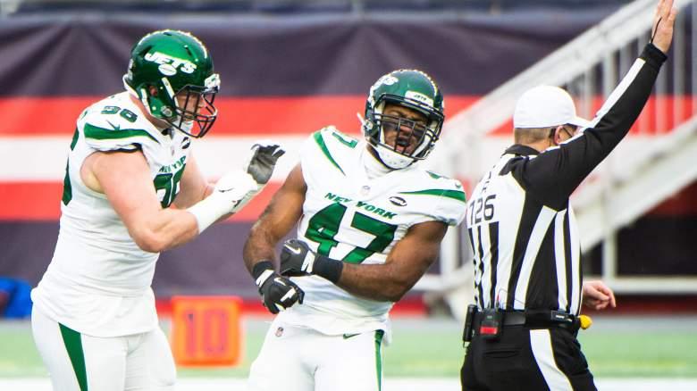New York Jets Bryce Huff