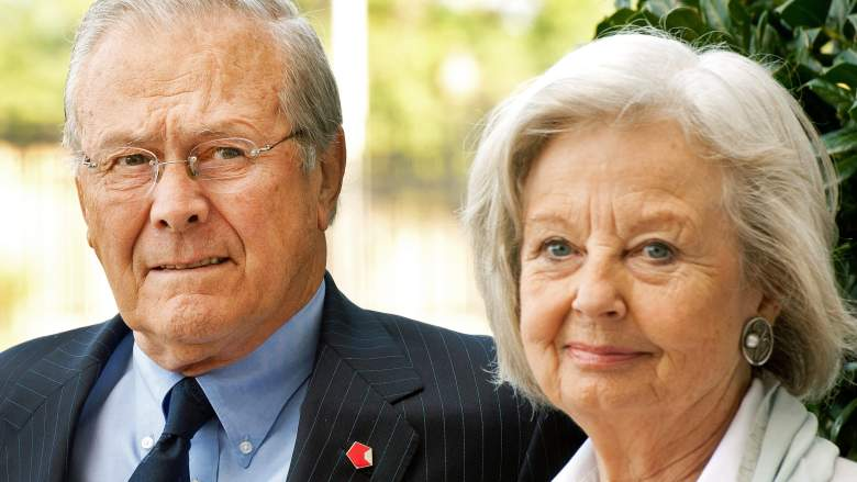 donald rumsfeld wife joyce rumsfeld