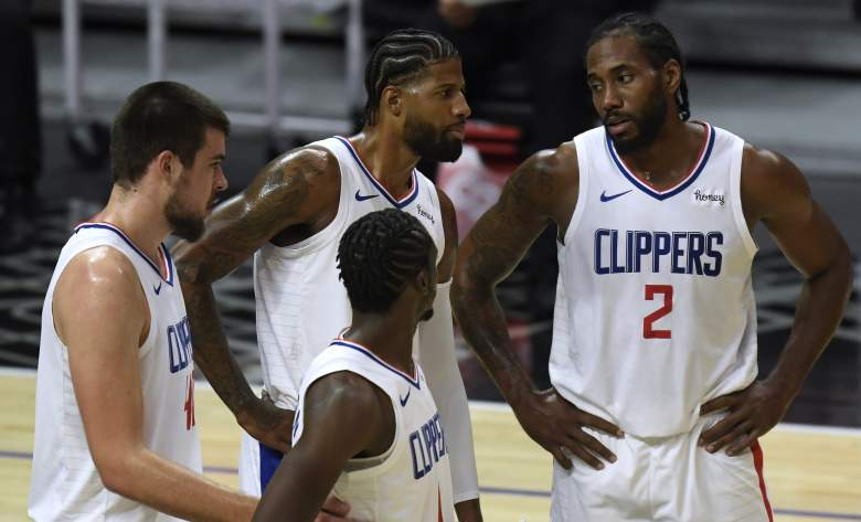 Clippers-Mavericks series