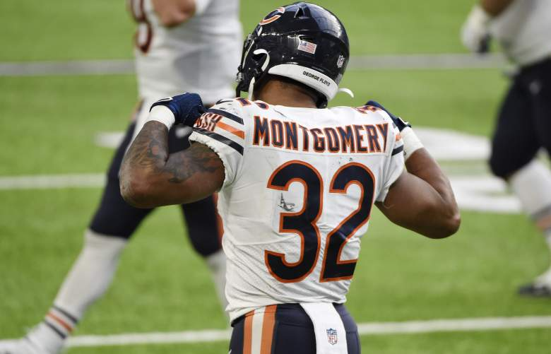 Bears RB David Montgomery speed
