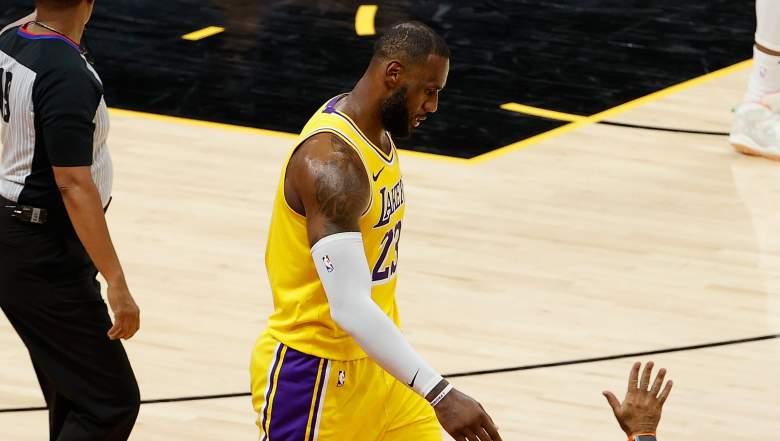 LeBron Handshakes