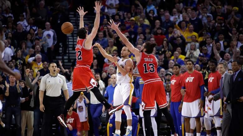 Kirk Hinrich and Joakim Noah defend Stephen Curry