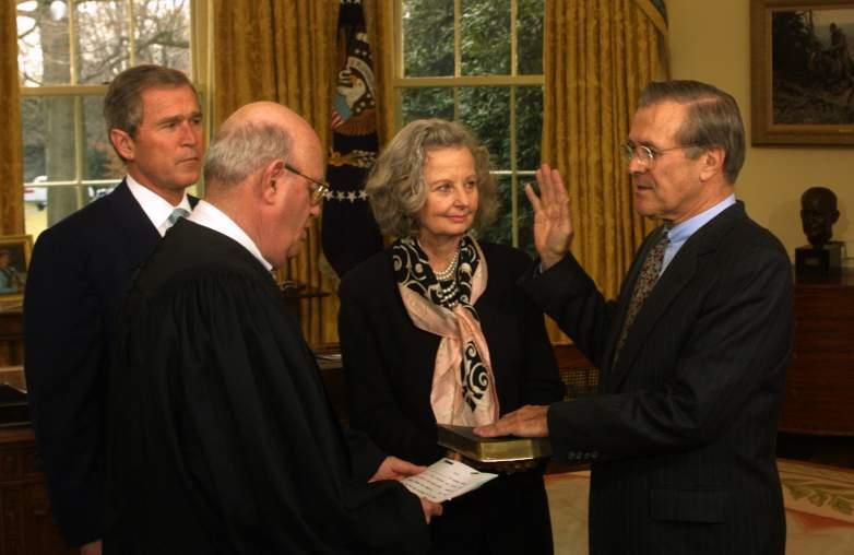 joyce rumsfeld donald rumsfeld wife