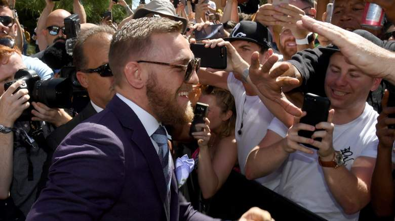 Conor McGregor and fans