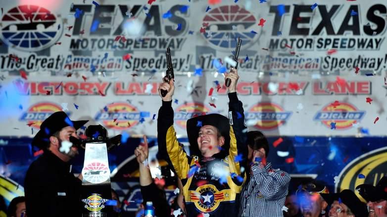 Kurt Busch Texas Win