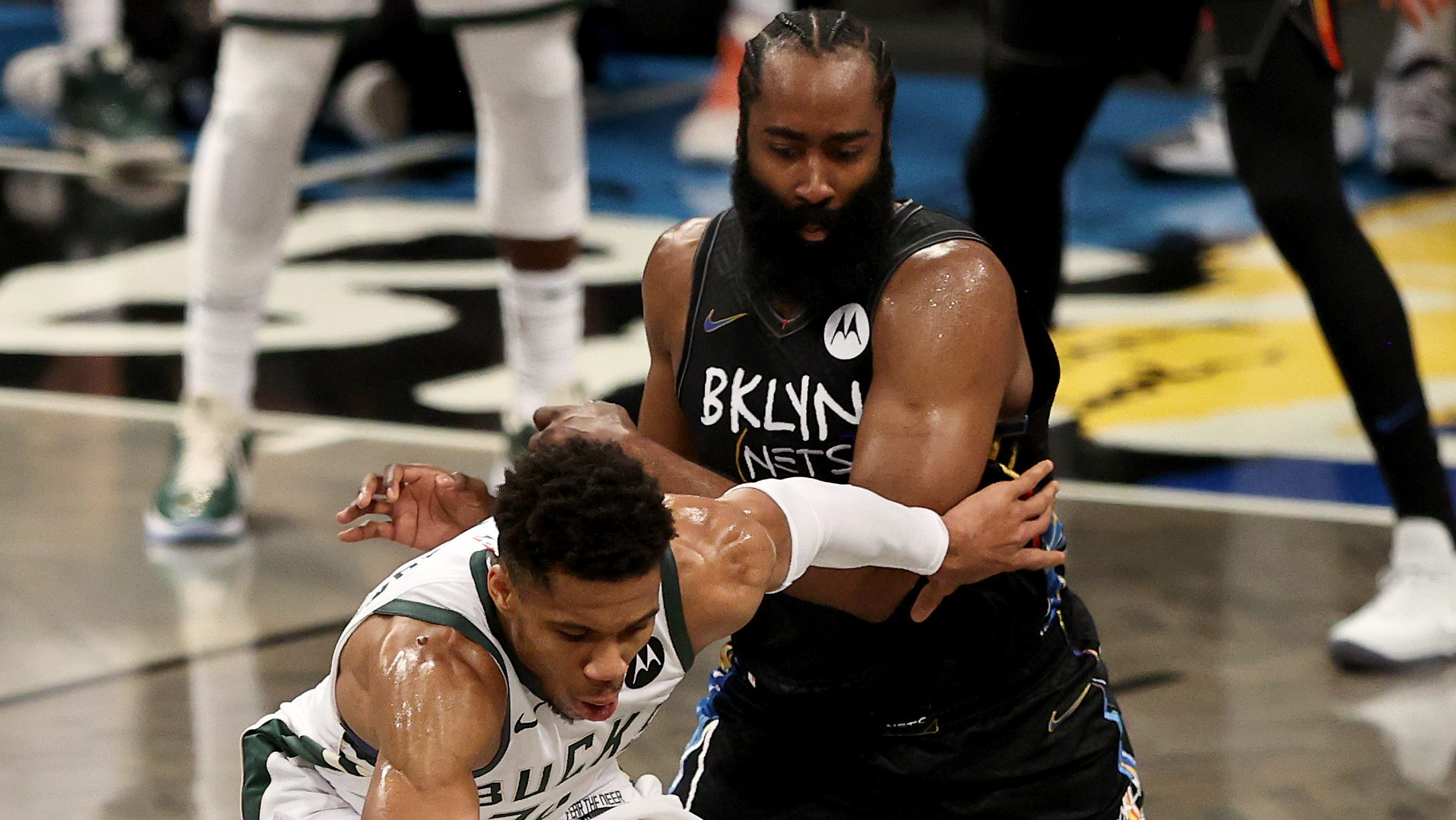 James Harden Is Fed up With Giannis Antetokounmpo - Heavy.com