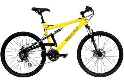 gravity mountain bike
