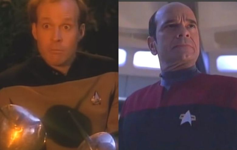 """Screenshots from """"Hollow Pursuits"""" and """"Tinker Tenor Doctor Spy"""""""