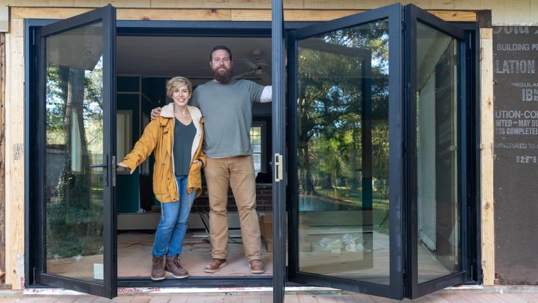 Stars of HGTV's 'Home Town' - Ben and Erin Napier