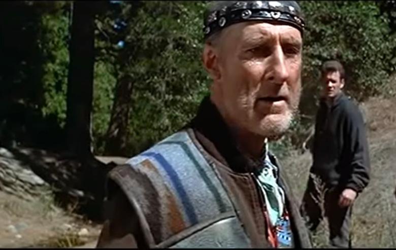 "James Cromwell as Zefram Cochrane in ""Star Trek: First Contact"""