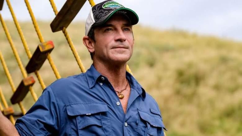 'Survivor's' Jeff Probst on set