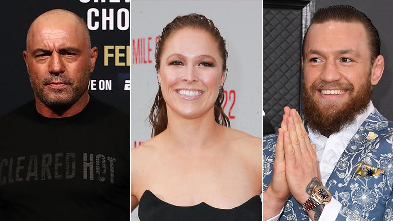 Joe Rogan, Ronda Rousey, Conor McGregor