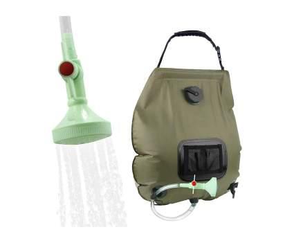 KIPIDA Five Gallon Solar Shower Bag