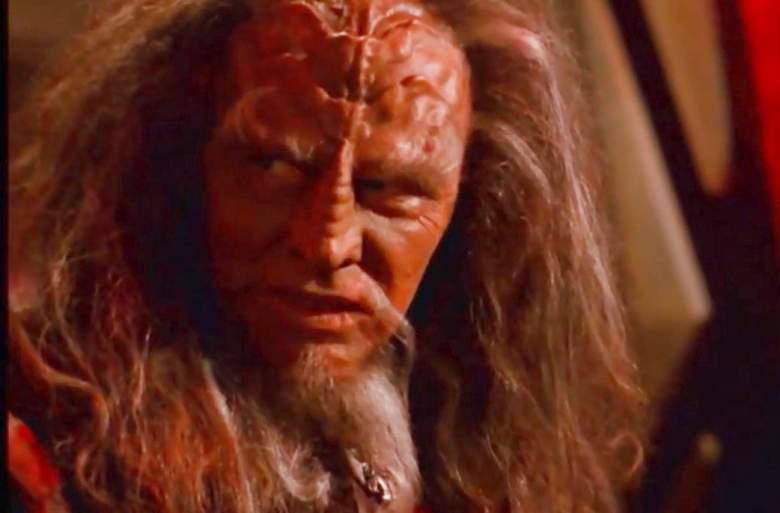 """Vaughn Armstrong as Korath in """"Star Trek: Voyager"""""""