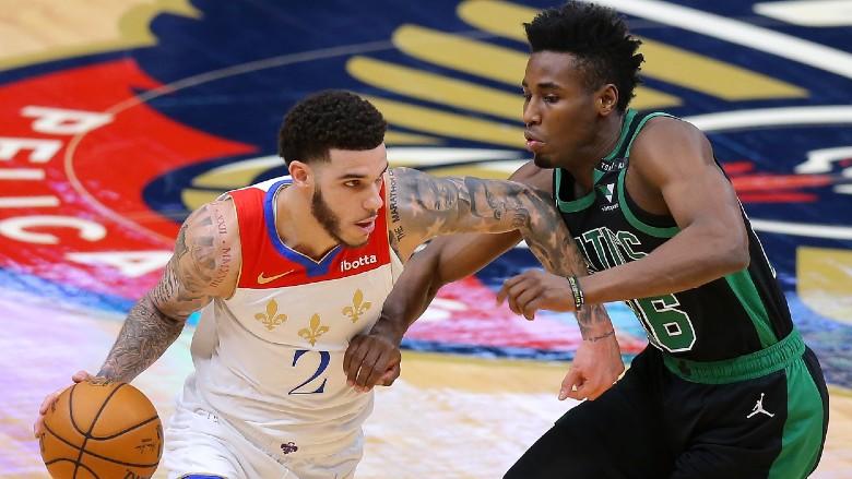 Lonzo Ball Celtics Pelicans