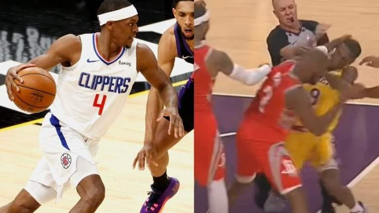 Rajon Rondo of the Clippers will face off against rival Chris Paul of the Suns.