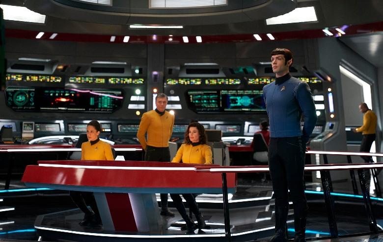 Strange New Worlds Bridge Crew