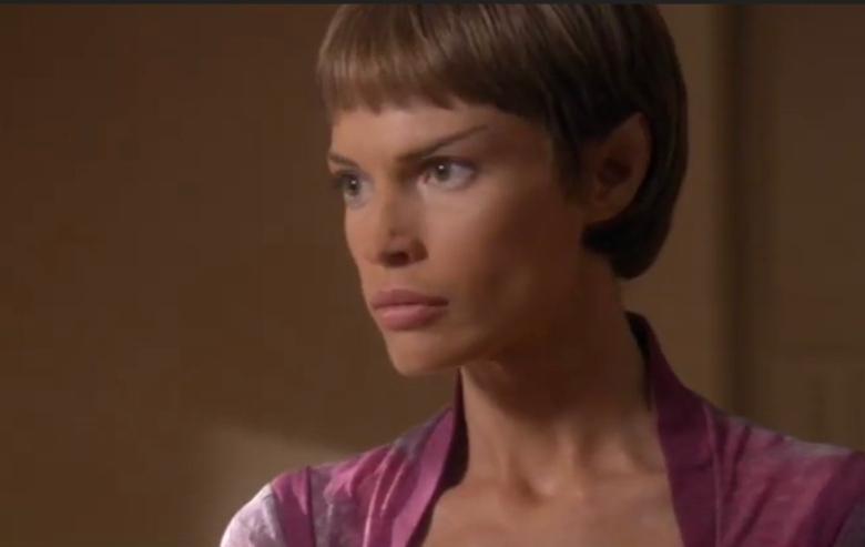 """Jolene Blalock as T'Pol in """"Star Trek: Enterprise"""""""