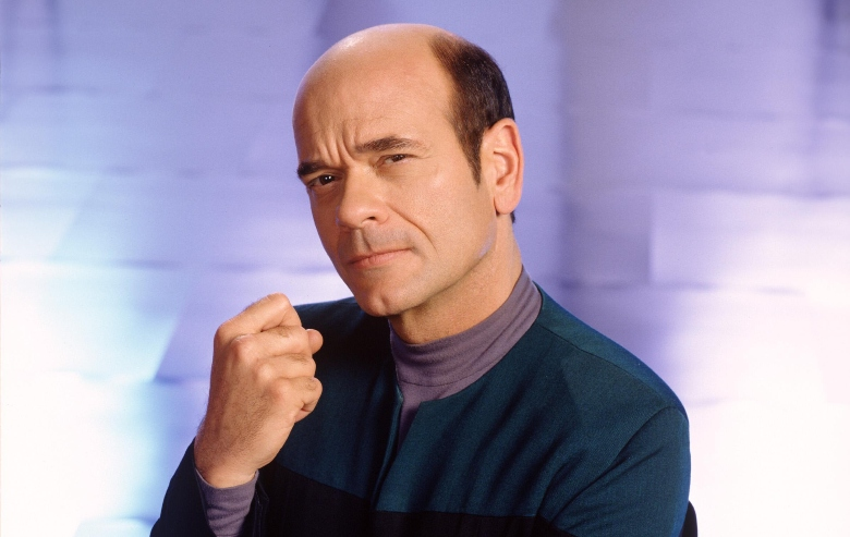 """Robert Picardo as The Doctor in """"Star Trek: Voyager"""""""