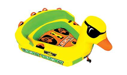 WOW Watersports Lucky Ducky Towable Large Inflatable Duck