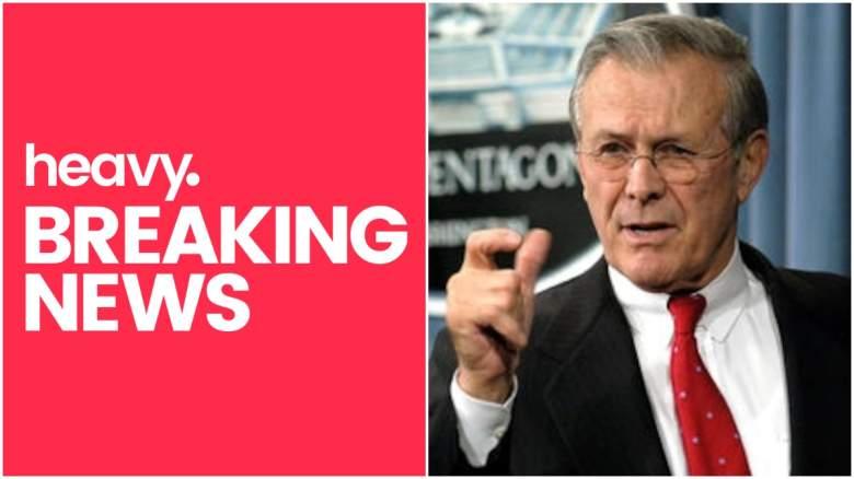 donald rumsfeld dead