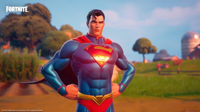 fortnite superman skin