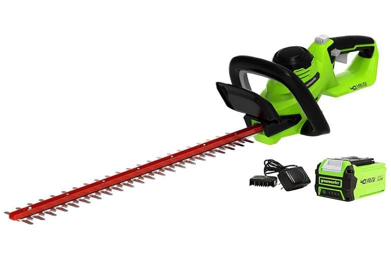 Greenworks 40V 24-Inch Hedge Trimmer