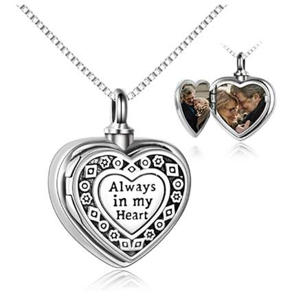 heart locket for ashes