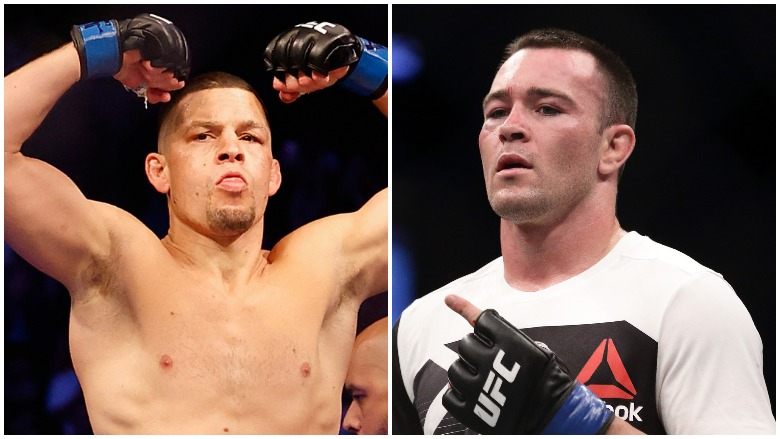 Nate Diaz and Colby Covington