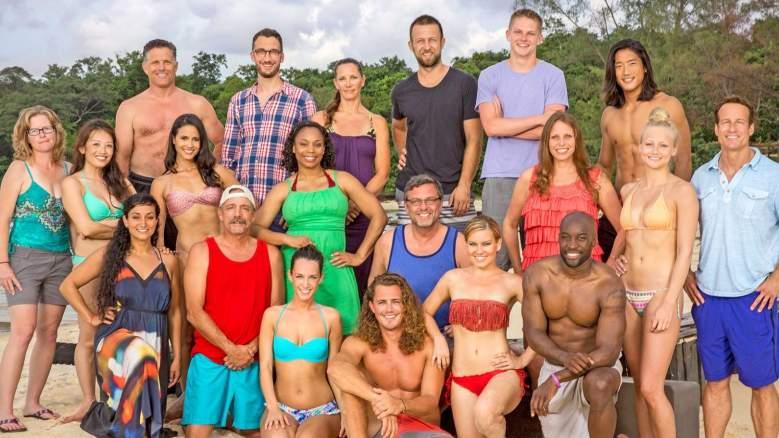 The cast of 'Survivor: Cambodia - Second Chance'