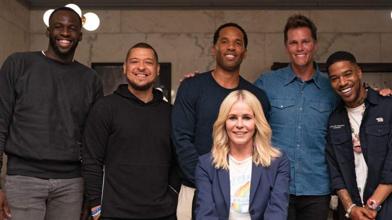 'The Shop: Uninterrupted' with Draymond Green, Tom Brady, Chelsea Handler, Kid Cudi and more.