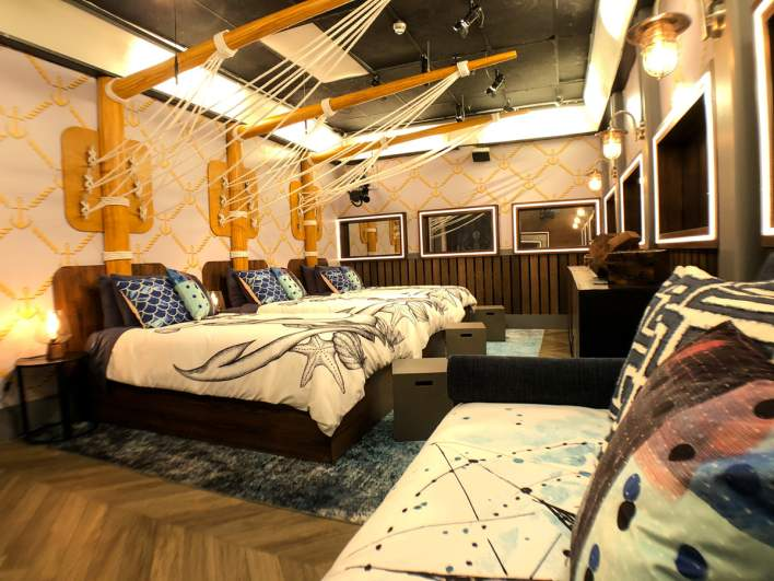 'The Yacht Club' in the 'Big Brother 23' house