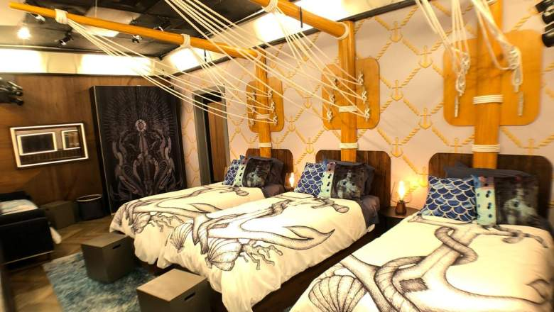 The 'Yacht Club' in the 'Big Brother 23' house