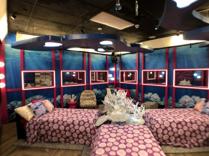 The 'Reef Room' in the 'Big Brother 23' house