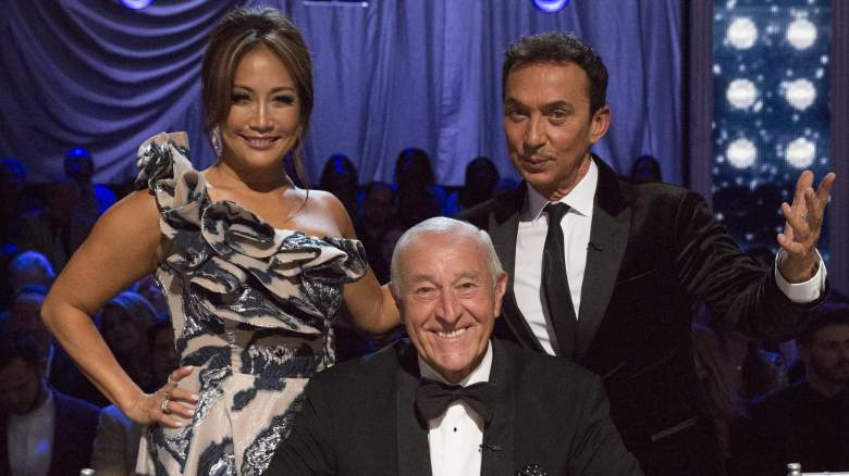 'Dancing With the Stars' judges Carrie Ann Inaba, Bruno Tonioli, and Len Goodman