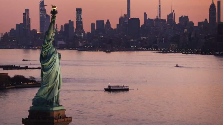 NYC skyline 2021