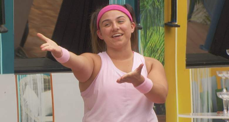 Britini D'Angelo in the 'Big Brother 23' house