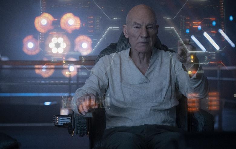 Sir Patrick Stewart as Jean-Luc Picard of the the CBS All Access series STAR TREK: PICARD