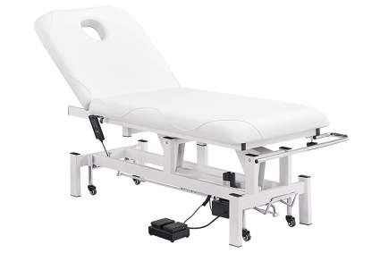 White electric salon spa table