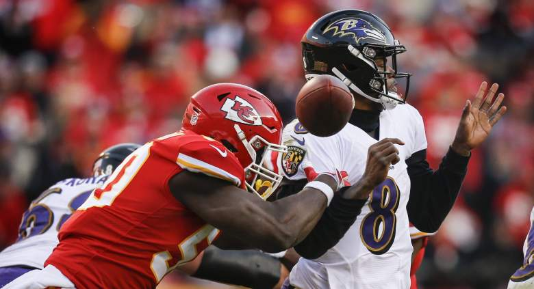 Ravens Justin Houston