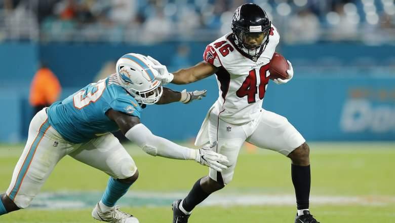 Falcons release Tony Brooks-James