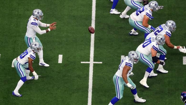 Cowboys offensive line