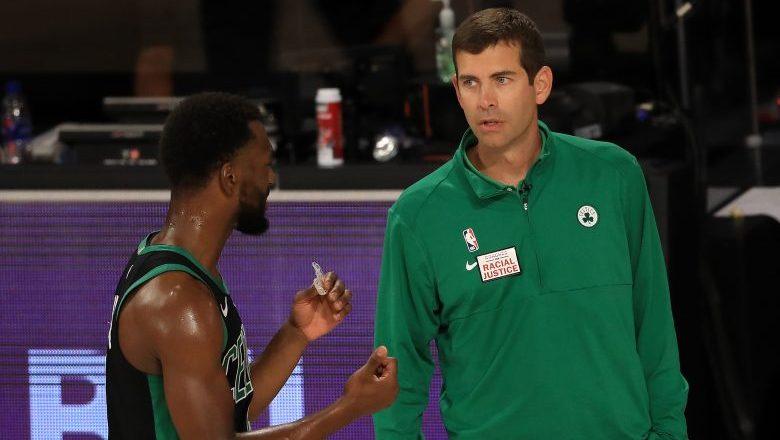 Kemba Walker Brad Stevens Celtics