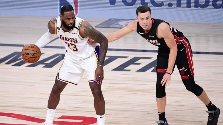 LeBron James, Duncan Robinson