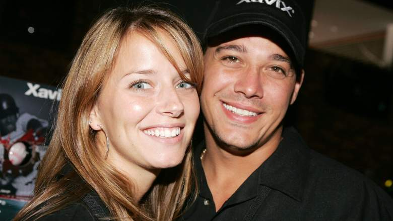 Rob Mariano and Amber Brkich of Survivor pose for a photo during the launch of XaviX Video Games