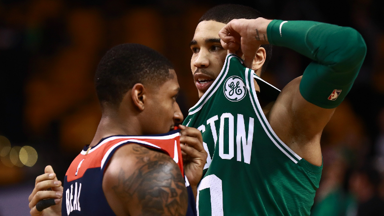 Jayson Tatum Bradley Beal Celtics