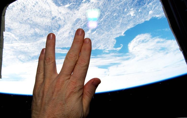 Live Long and Prosper Vulcan Salute