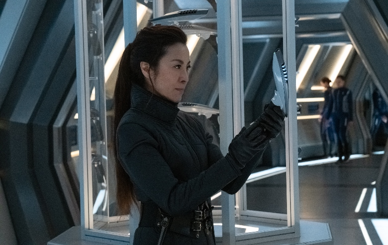 Michelle Yeoh as Phillipa Georgiou of the CBS All Access series STAR TREK: DISCOVERY